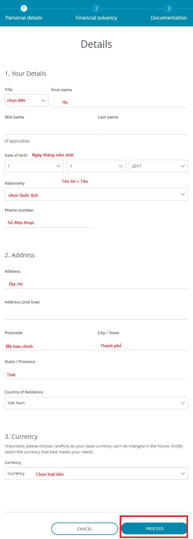 Hướng dẫn đăng ký tài khoản Darwinex